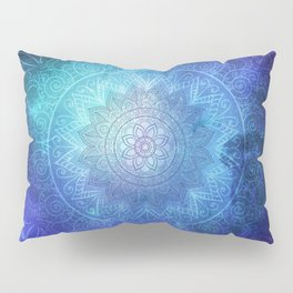 Abstract Flower of life Deep Space Pillow Sham