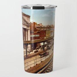 Bowery, New York City Travel Mug