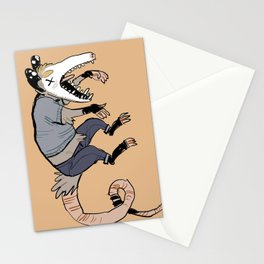 hes dead Stationery Cards