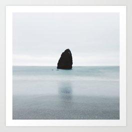 Strange Ocean Rock Art Print
