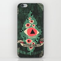 dream catcher iPhone & iPod Skins featuring Dream Catcher by Hector Mansilla