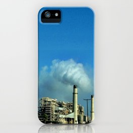 Pollution. iPhone Case
