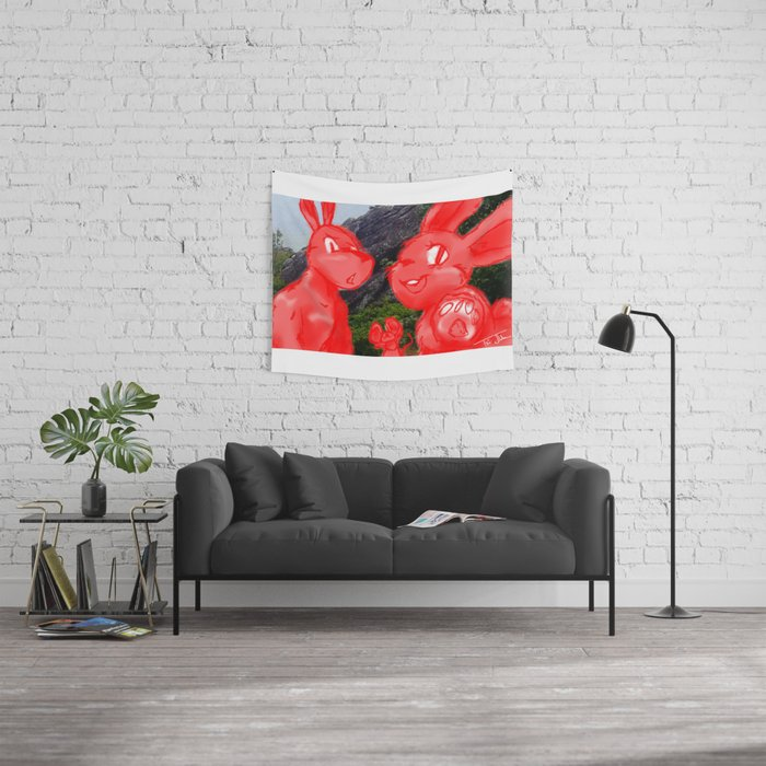 Smile for the Camera Wall Tapestry