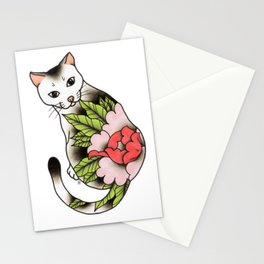 Sitting Cat Stationery Cards