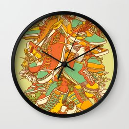 If the Shoe Fits Wall Clock