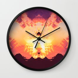 Pixelisation Wall Clock