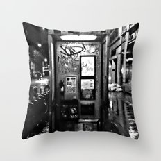 midnite call london Throw Pillow