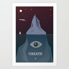 Create Without Limits Art Print