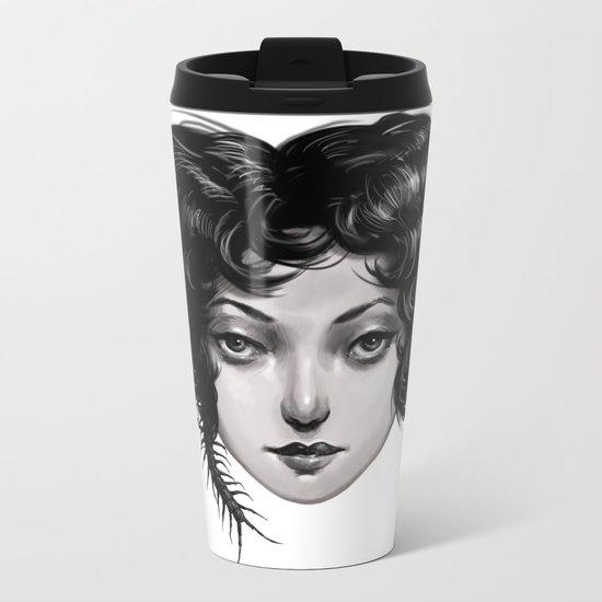 Lucy Metal Travel Mug