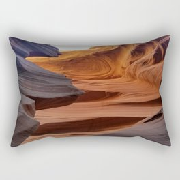 Antelope Canyon #2 Rectangular Pillow
