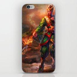 Powerful Soldie iPhone Skin