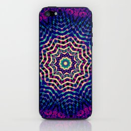 Synth Pop Girl iPhone Skin