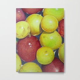 Hawaiian Passion Fruit Metal Print