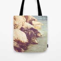rocky Tote Bags featuring Rocky by Patrik Lovrin Photography