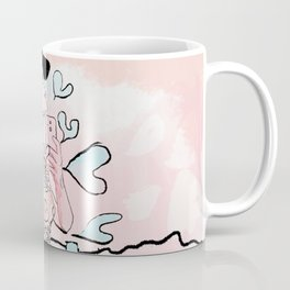 Country Heart on Palm Beach Coffee Mug