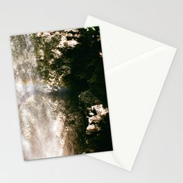 falling waters Stationery Cards