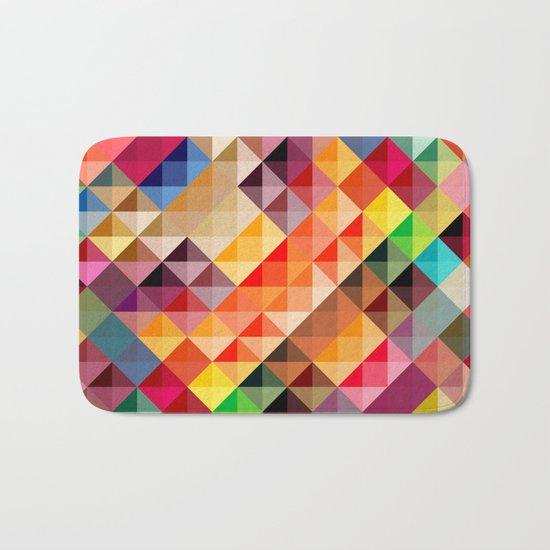 Abstract colorful Bath Mat