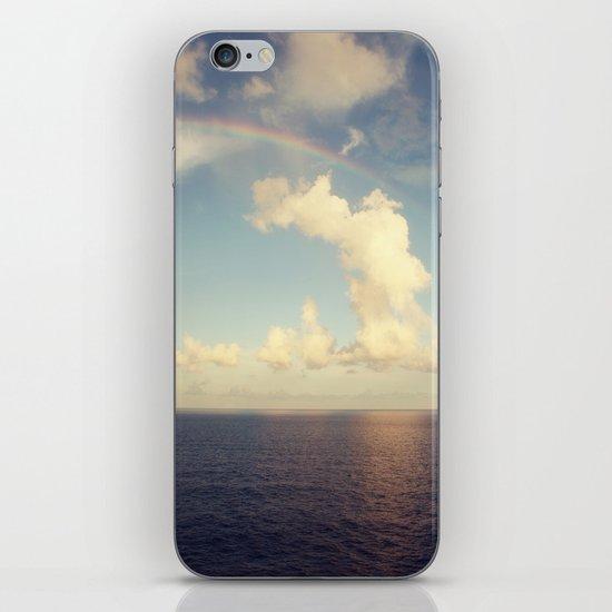 Rainbow Over the Ocean iPhone & iPod Skin