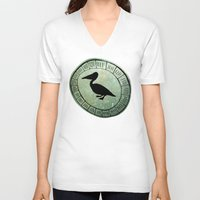starry night V-neck T-shirts featuring Starry Night by Liz Atmore-Vitols