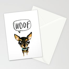 Cute chihuahua dog Stationery Cards