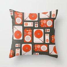 Music Lover Throw Pillow