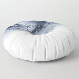 Bad Weather Floor Pillow