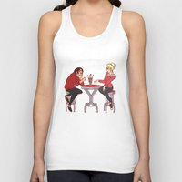 snk Tank Tops featuring YumiKuri by Wealthy Loser