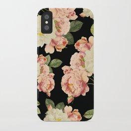 Flora temptation - night iPhone Case