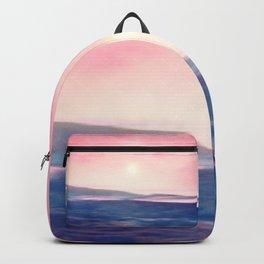 Pastel landscapes 01 Backpack
