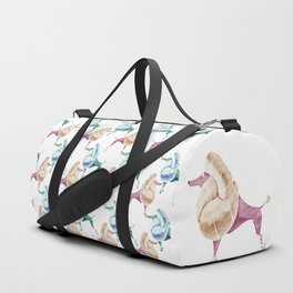 Poodle Duffle Bag
