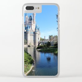 A Day At The Castle Clear iPhone Case