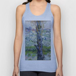 "Vincent Van Gogh ""View of Arles, Flowering Orchards"" Unisex Tank Top"