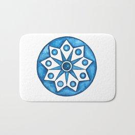 Radial Design Blue No. 2 Bath Mat