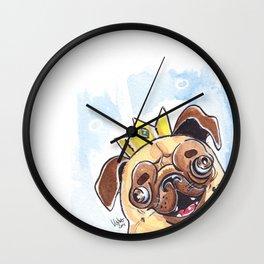 KINGPUG Wall Clock