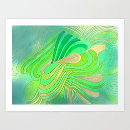 RAMSES 4 Art Print