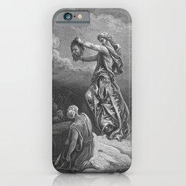 Gustave Doré - La Grande Bible de Tours (1866) 113 Judith Shows the Head of Holofernes iPhone Case