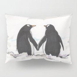 Penguins in love Pillow Sham