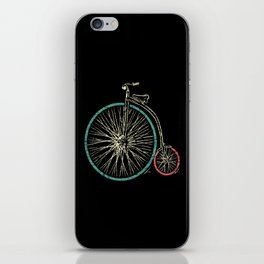 Cycling Forever | Penny Farthing High Wheel iPhone Skin