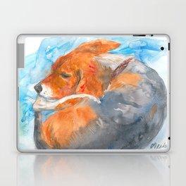 Sleeping Beagle Laptop & iPad Skin