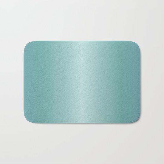 Teal Gradient Bath Mat