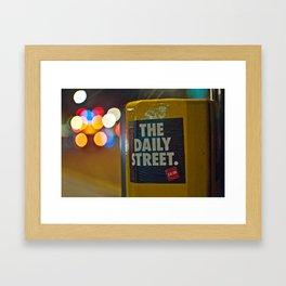 The Daily Bokeh Framed Art Print