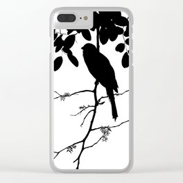 Elusive trogon Clear iPhone Case