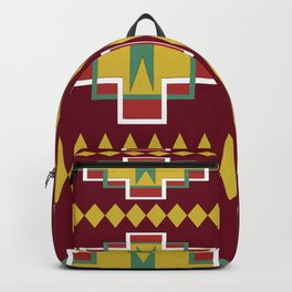 Native pattern Backpack