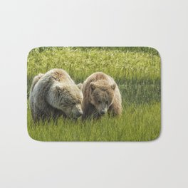 Eating Side by Side Bath Mat