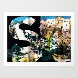 ESSE MAIUSCOLA Art Print