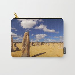 The Pinnacles Desert in Nambung National Park, Western Australia Carry-All Pouch