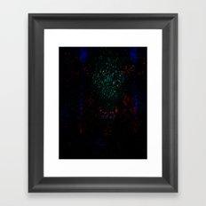 EH-WEANS-HELLO Framed Art Print