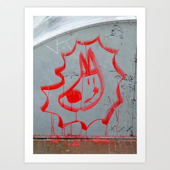 biritasplash - amsterdam Art Print