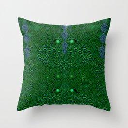 Dragon abstracte skin pattern Throw Pillow