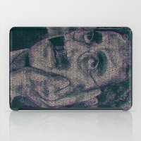marx iPad Cases featuring Groucho Marx - Duck Soup Screenplay Print by Robotic Ewe